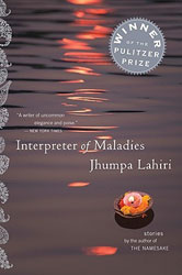 Indian Fiction - Interpreter of Maladies by Jhumpa Lahiri