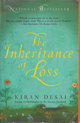Indian Fiction - The Inheritence of Loss by Kiran Desai