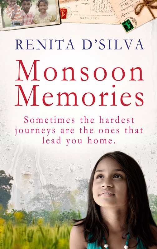 Monsoon Memories cover design Renita D'Silva