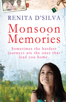 Monsoon Memories by Renita D'Silva book cover small